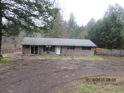 Oregon City Single Family Home For Sale: 19778 S Creek Rd