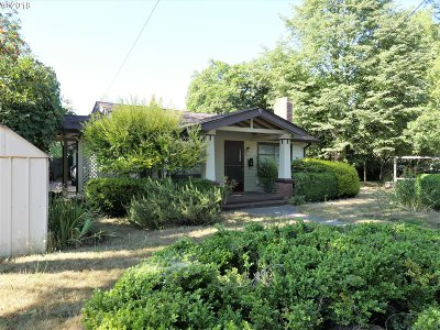 Portland Single Family Home For Sale: 8009 N Lombard Way