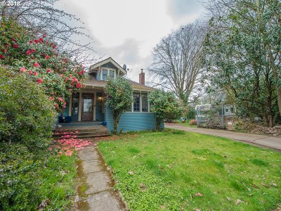 Single Family Home For Sale: 4142 SE 52nd Ave