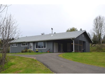 Mapleton Single Family Home For Sale: 11459 Hill Crest Rd