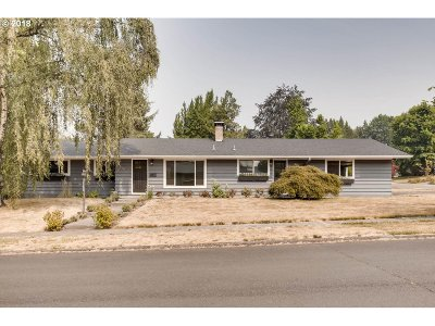 Single Family Home For Sale: 1580 SW Hilldale Ave