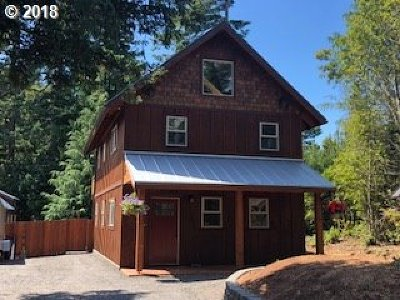 Port Orford Single Family Home For Sale: 925 Twelfth St
