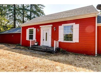 Cottage Grove, Creswell Single Family Home For Sale: 34036 Row River Rd