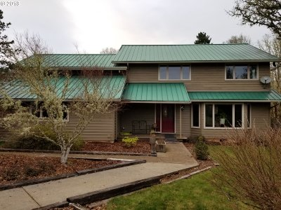 Cottage Grove, Creswell Single Family Home For Sale: 31751 Lynx Hollow Rd