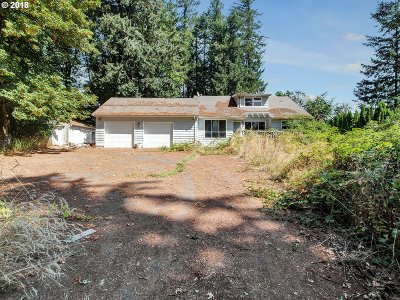 Single Family Home For Sale: 8940 NW Skyline Blvd