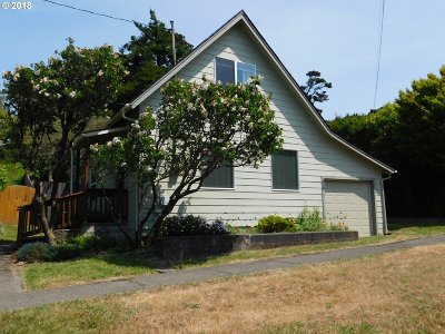 Port Orford Single Family Home For Sale: 628 Oregon St