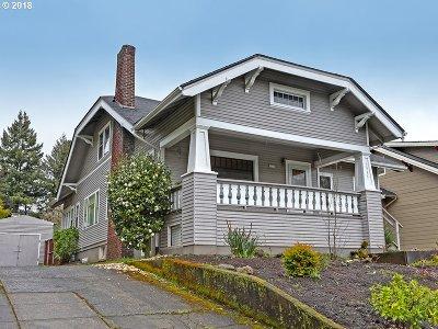 Single Family Home For Sale: 3535 SE Stark St