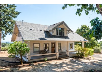 Wilsonville Single Family Home For Sale: 32930 SW Ladd Hill Rd