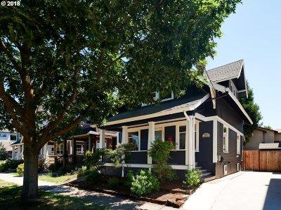 Clackamas County, Multnomah County, Washington County Single Family Home For Sale: 1620 N Holman St