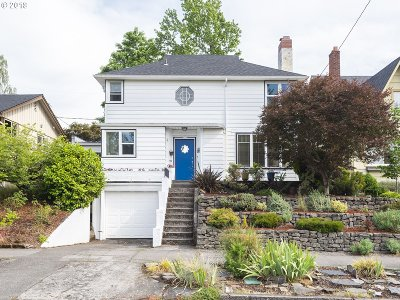 Portland OR Single Family Home For Sale: $629,900