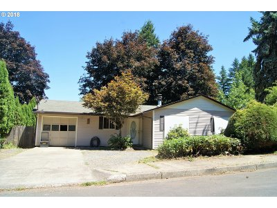 Cottage Grove, Creswell Single Family Home For Sale: 922 S U St