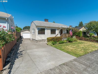 Single Family Home For Sale: 3801 NE 74th Ave