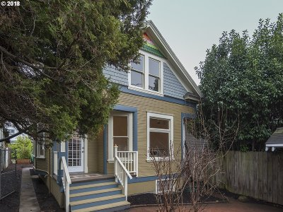 Portland Single Family Home For Sale: 4544 N Williams Ave