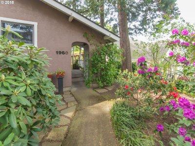 Eugene Single Family Home For Sale: 1960 Charnelton St