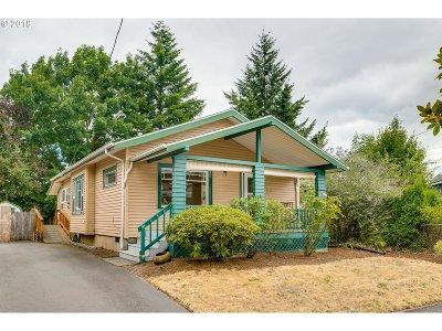 Portland Single Family Home For Sale: 3412 NE 74th Ave