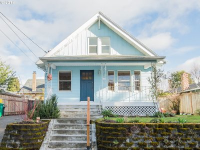 Portland OR Single Family Home For Sale: $425,000