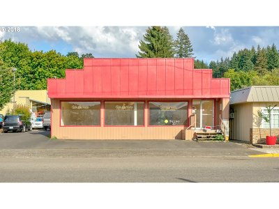 Estacada Commercial For Sale: 344 SE Main St