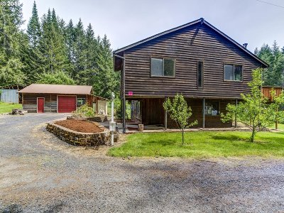 Vernonia Single Family Home For Sale: 60980 Edens Rd