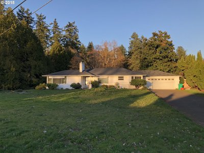Milwaukie Single Family Home For Sale: 1702 SE Oak Shore Ln
