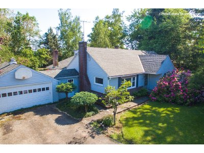 Multnomah County, Washington County, Clackamas County Single Family Home For Sale: 40538 NW Verboort Rd