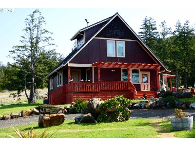 Gold Beach OR Single Family Home For Sale: $650,000
