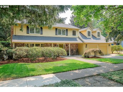 Beaverton Single Family Home For Sale: 9680 SW Buckskin Ter