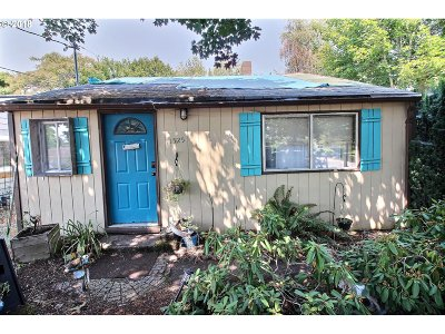 Single Family Home For Sale: 11525 SE Salmon St