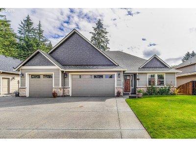 Ridgefield Single Family Home For Sale: 17213 NE 33rd Ct