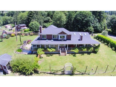 Lane County Single Family Home For Sale: 9141 North Fork Siuslaw Rd
