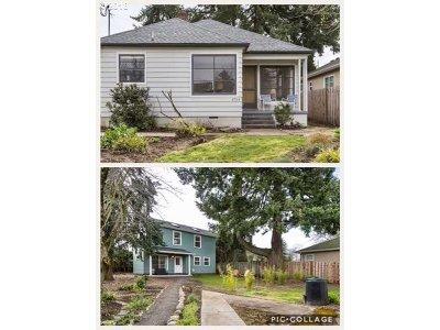 Single Family Home For Sale: 4744 NE Mason St