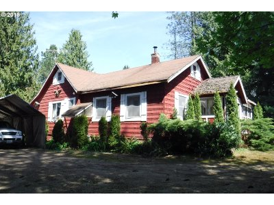 Single Family Home For Sale: 29599 SE Kelso Rd