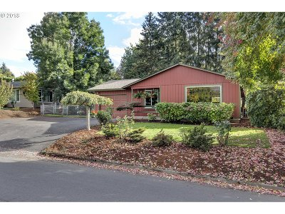 Sherwood Single Family Home For Sale: 15262 SW Willamette St