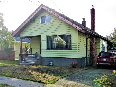 Portland Single Family Home For Sale: 1733 SE 46th Ave