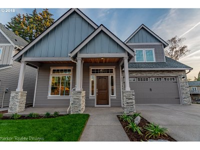 Beaverton Single Family Home For Sale: 19216 SW Magnolia Ln