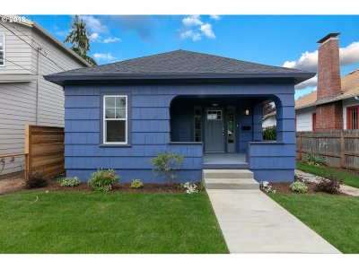 Single Family Home For Sale: 4703 SE 63rd Ave