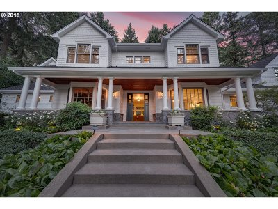 Lake Oswego Single Family Home For Sale: 260 Iron Mountain Blvd