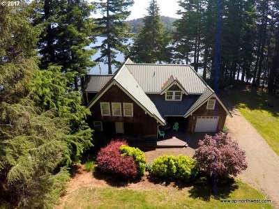 Lincoln City Single Family Home For Sale: 2092 NE West Devils Lake Rd