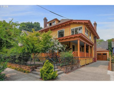 Portland Single Family Home For Sale: 2343 NW Lovejoy St