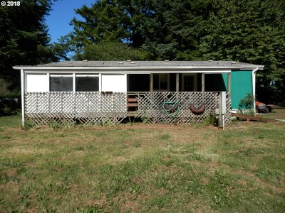 Coos Bay Single Family Home For Sale: 93350 Woodruff Ln