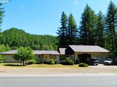 Single Family Home For Sale: 48705 Wilson River Hwy
