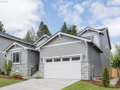 Tigard Single Family Home For Sale: 13275 SW Maddie Ln #lot3