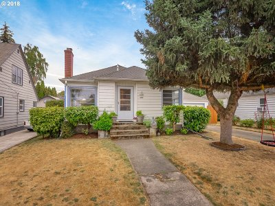 Portland Single Family Home For Sale: 6616 NE 23rd Ave
