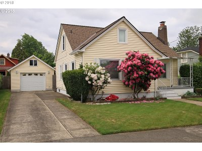 Portland Single Family Home For Sale: 5841 NE 17th Ave
