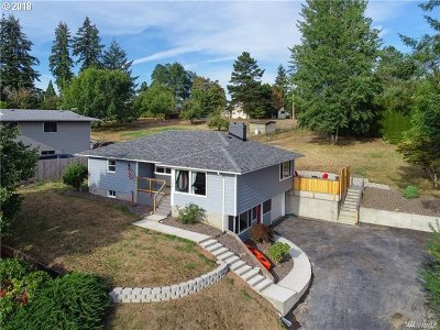 Cowlitz County Single Family Home Bumpable Buyer: 144 Alpha Dr