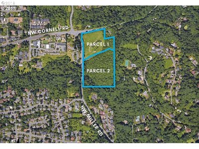 Clackamas County, Washington County, Multnomah County Residential Lots & Land For Sale: NW Cornell And Miller Rd