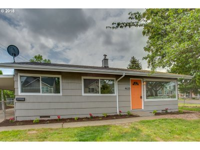Portland Single Family Home For Sale: 4620 N Houghton St