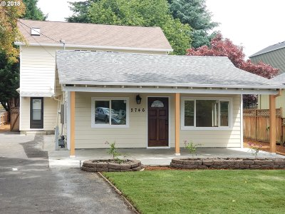 Portland Single Family Home For Sale: 2746 SE 87th Ave