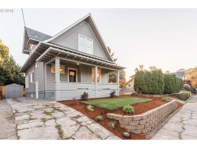 Multnomah County Single Family Home For Sale: 2312 N Humboldt St
