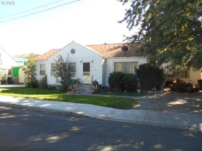 Grant County Single Family Home For Sale: 120 NW 2nd St