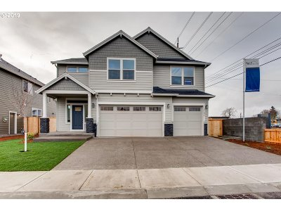 Beaverton Single Family Home For Sale: 21826 SW McKinley Ln #Lot 7